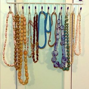 Just 4 Fun 12 Pieces / 11 Necklaces & 1 Bracelet